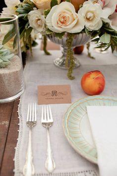 Vintage Secret Garden Inspiration Shoot by Elissa Keno Events via Ruffled Fruit Wedding, Wedding Flowers, Wedding Bells, Garden Wedding, Summer Wedding, Wedding Peach, Lace Weddings, Vintage Weddings, Garden Inspiration