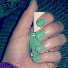 Essie nailpolish mohito madness #essie #nails