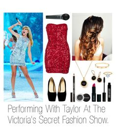 """""""Performing With Taylor At The Victoria's Secret Fashion Show."""" by mxliksweed ❤ liked on Polyvore featuring Lord & Berry, Ippolita and Tiffany & Co."""