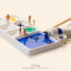 Big bath by Tanaka Tatsuya