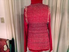 Tear, Weaving, High Neck Dress, Collection, Dresses, Fashion, Ponchos, Wool Vest, Sweater Vests