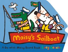 Today is the perfect day to go sailing in Maisy's boat! When Maisy and Charley stop at the blue lagoon for fishing and snorkeling, how many colorful fish will Maisy see under the water? What surprise will Charley catch on his fishing line? What an adventure out on the waves! Three cheers for Captain Maisy! 9780763694050 / 0-3 yrs