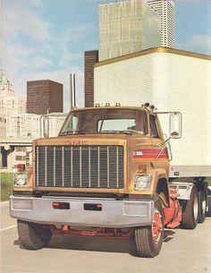 1978 GMC Brigadier 9500 Truck Brochure Canada WO2983 WSP4MH | eBay