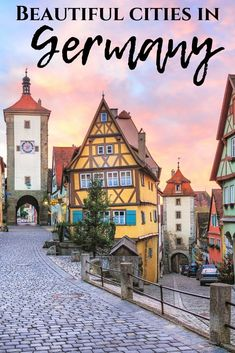 travel destinations european Beautiful Cities In Germany: Cities On The Viking Grand European Tour Europe Destinations, Europe Travel Guide, Travel Guides, Backpacking Europe, Cities In Germany, Visit Germany, Germany Travel, Germany Europe, European Tour