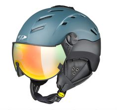 Best Visor Helmets - CP Helmets CP from Switzerland is one of the leaders in the built-in visor helmets world. They are high-tech-ad fashion forward. Best Skis, Ad Fashion, Top Gear, Helmets, Bicycle Helmet, Switzerland, Fashion Forward, Skiing, In Trend