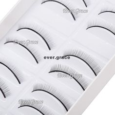 10Pairs Makeup Practice Eyelashes Extension For Beginner Teaching Strip Eye Lash