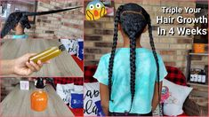 2 Simple ways to Triple your HAIR GROWTH RATE In 4 weeks    Stop hair Fall And Get Thicker Hair - YouTube