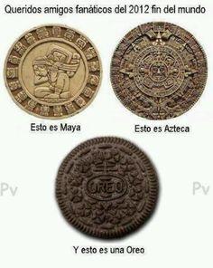 Maya Azteca Oreo