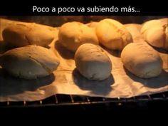 Panecillos sin gluten - YouTube Video tutorial con levado en nevera 12h mamaferment