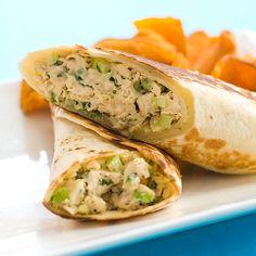 Crispy Chicken Salad Wraps Recipe - Cook's Country