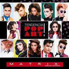 ¿Qué os parecen los doce nuevos looks Pop Art propuestos por Matrix Professional?  ¿Con cuál os quedaríais?