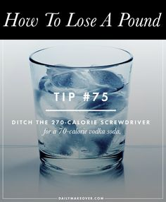 101 Ways to Lose a Pound