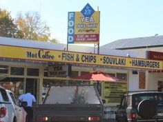 Yea Take Away Store Fish And Chips, Victoria, Australia, Store, Hot, Larger, Shop