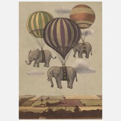 Flight Of Circus Canvas, Terry Fan
