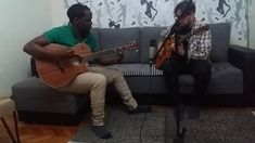 Daniel Ngarukiye & Sebastian Tatar - blues improvisation