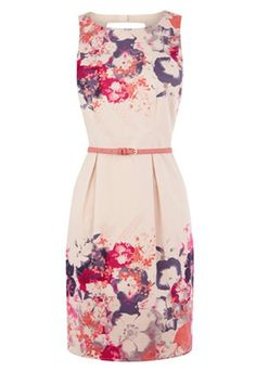Florals for Spring. Love this dress!