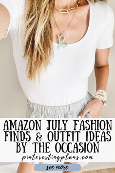 Click to see Amazon fashion finds in July on Pinteresting Plans! These are amazon must haves women clothes and amazon must haves women summer. Stylish amazon fashion finds summer. Best amazon dresses summer fashion weeks and amazon fashion summer dresses. Wear formal outfits for women special occasions classy. Even find occasion dresses guest what to wear on amazon. Pretty occasion dresses wedding guest what to wear. Outfit ideas summer women street fashion. #amazon #fashion #outfits Summer Outfits Women, Casual Summer Outfits, Formal Outfits, Simple Outfits, Stylish Outfits, Summer Dresses, Fashion Outfits, Amazon Dresses, Affordable Fashion