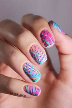 NCLA Nail Wraps - End Of Summer 1