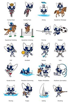 Olympic Icons, Olympic Games, 2020 Olympics, Tokyo 2020, Field Hockey, Pictogram, Esports, Watercolor Illustration, Doodles