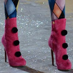 Yea I want this :)  Nicholas Kirkwood Shoes Designed for Victoria's Secret…