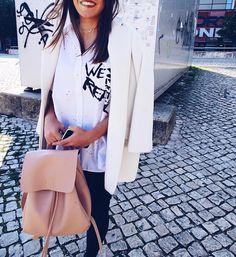 "219 Gostos, 1 Comentários - Maria Nogueira Souto (@marianogueirasouto) no Instagram: ""Born to be real✌🏼 #ootd #outfitoftheday"""
