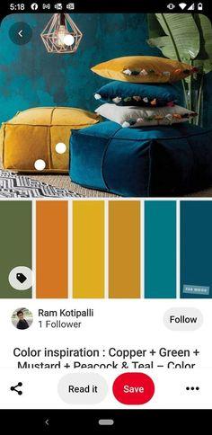 Arden House, Mobile Living, Green Copper, Teal Colors, Color Inspiration, Palette, Pandora, Art, Decor