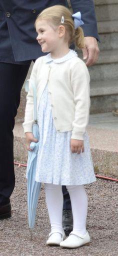 Princess Estelle July 14, 2015 in Oland, Sweden.