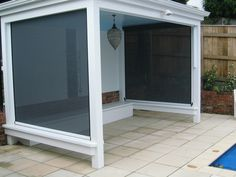 0800 Sunshade Are Experts In The Manufacture & Installation Of Exterior Sunshades / Shade Sails, Outdoor Screens, Umbrellas & Many More Sun Shade Options. Ziptrak Blinds, House Blinds, Bamboo Blinds, Mini Blinds, Outdoor Screens, Outdoor Blinds, Sun Shade, Grey Walls, Shades