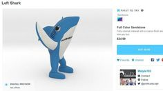 Left Shark journeys from Super Bowl to Internet meme to lawsuit ...