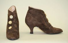 Fashion and Costume History     – shewhoworshipscarlin:   Shoes, 1985, Britain.