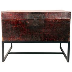 Chinese Clothing Trunk | From a unique collection of antique and modern lacquer at https://www.1stdibs.com/furniture/asian-art-furniture/lacquer/