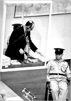 Eichmann at his trial 2