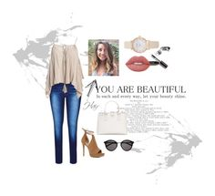 """""""Untitled #3"""" by guidalopes ❤ liked on Polyvore featuring City Chic, Sans Souci, Bobbi Brown Cosmetics, ALDO, Prada, Lime Crime, Yves Saint Laurent, casual, CasualChic and cuteoutfit"""