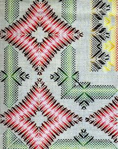 Can do on Monk, Aida, or Huck Swedish Embroidery, Ribbon Embroidery, Cross Stitch Embroidery, Embroidery Patterns, Cross Stitch Patterns, Hardanger Embroidery, Weaving Designs, Weaving Projects, Cross Stitch Material