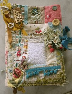sewFABric journal front by pam garrison, via Flickr