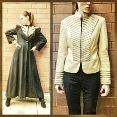 My first look for the last day of #NYFW. All about the vintage 1920s over coat. Jacket underneath I designed myself.