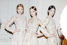 Valentino Couture - Paris Couture SS/12 Backstage AT
