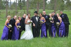 End of May wedding - The wedding party