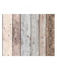 New England Blue and White Wood Effect Wallpaper (8550-39)