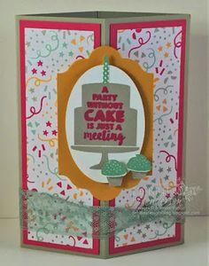 Decorative Corner Card Fold