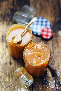 Caramel au beurre salé – la version liquide et la version onctueuse