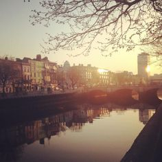 Dublin Ireland - When it's not raining it's magical