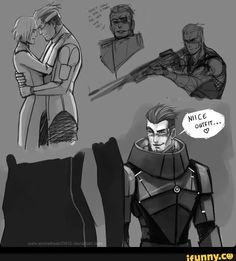 Don't get me wrong. This is 10/10 would bang. But strangely enough I still love the original Garrus more xD