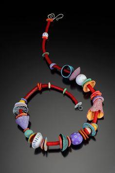 Ronna Sarvas Weltman, polymer clay.