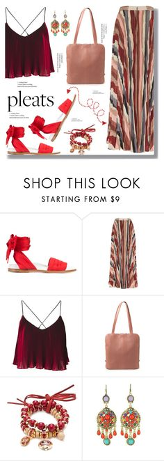 """Please, Pleats"" by drigomes ❤ liked on Polyvore featuring Marques'Almeida, Alice + Olivia, Accessory PLAYS and WithChic"