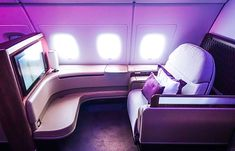 Qatar Airways A380 First Class Seat 2K