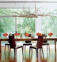 liking the branch chandelier. I think I can make that. :)