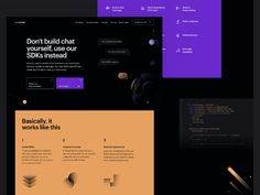 CometChat Pro designed by Ana Moreno for Significa. Connect with them on Dribbble; Flat Web Design, App Ui Design, Design Design, Graphic Design, Gui Interface, Interface Design, Website Design Inspiration, Ui Inspiration, Design Innovation