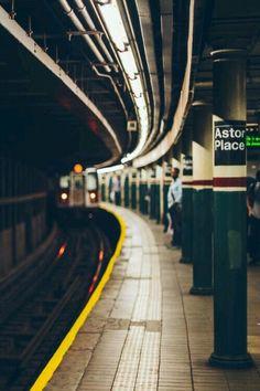 una buena imagen sobre el metro