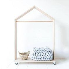 Movable Clothes Rack - Mini Me Ltd